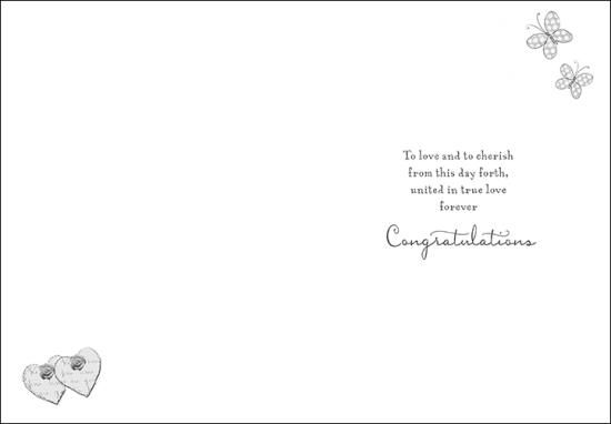 Wishing You Joy On Your Wedding Day Card Product Images Of