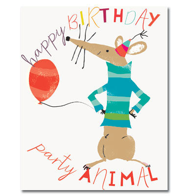 HappyBirthdayPartyAnimalCardbuy Birthday Cards For Him Online