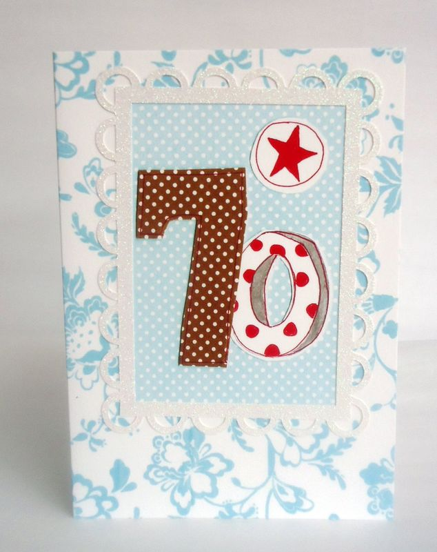 Dotty 70th Birthday Card