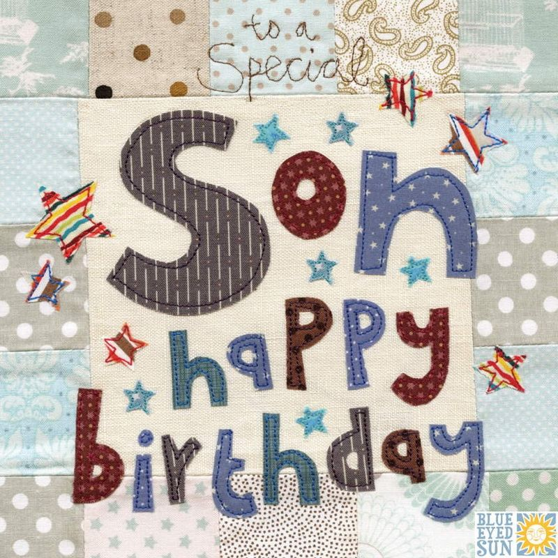 To A Special Son Birthday Card
