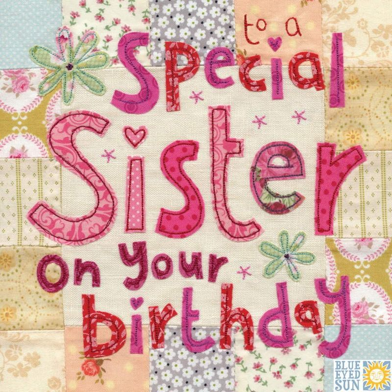 Special Sister Birthday Card