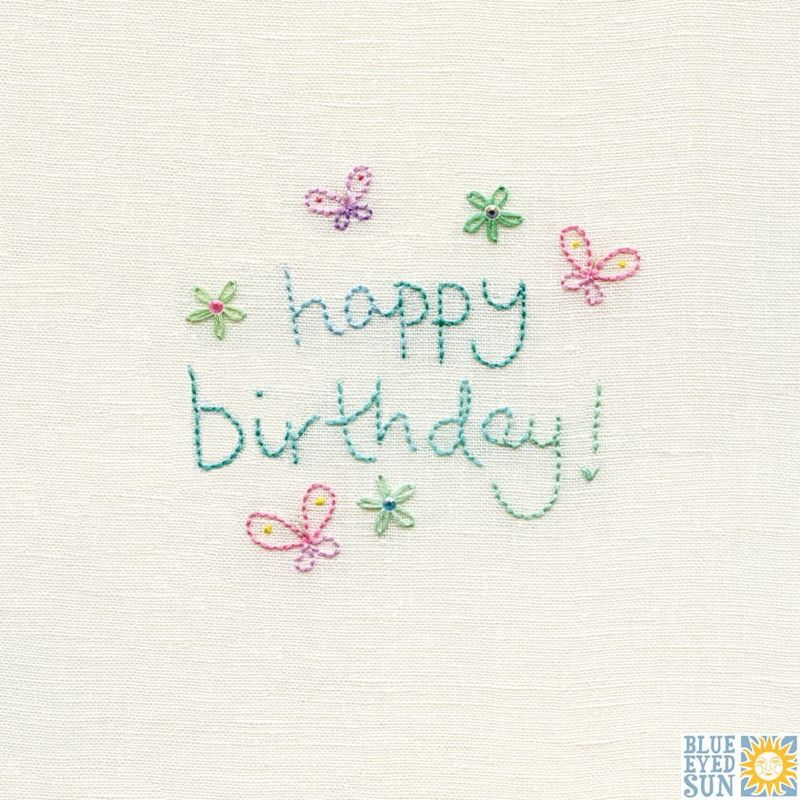 Butterflies Happy Birthday Card