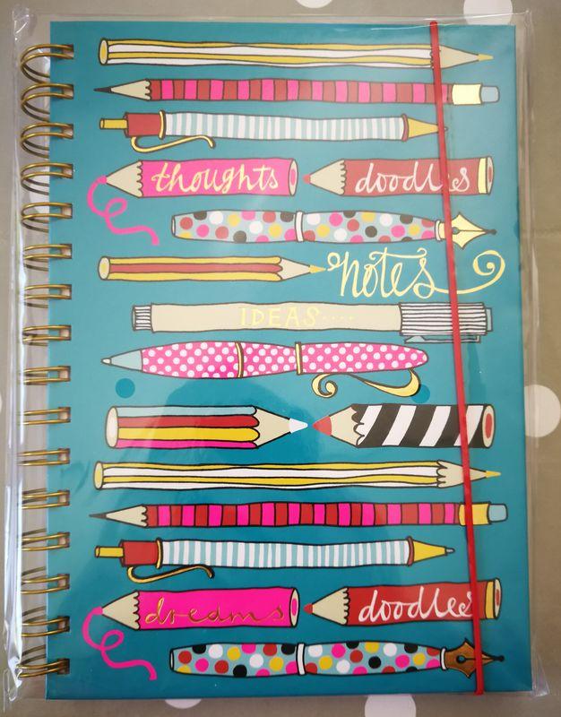 Rachel Ellen Pens and Pencils A5 Notebook