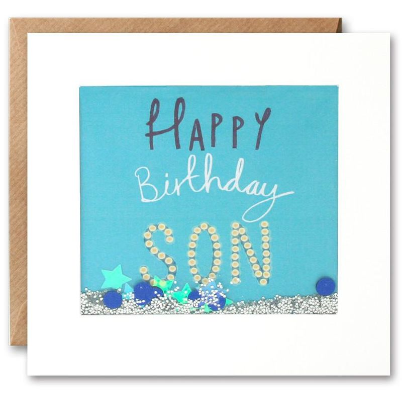 Shakies Son Happy Birthday Card