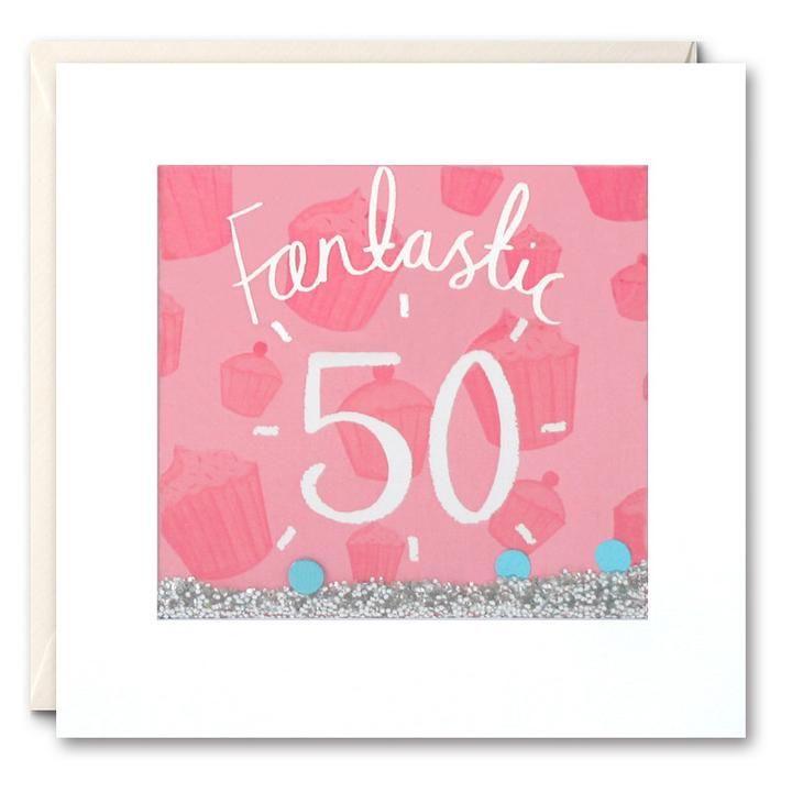 Shakies 50th Birthday Card
