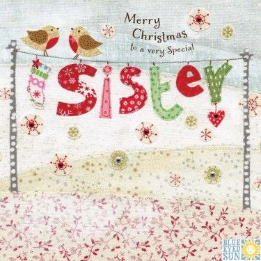 Merry Christmas Sister.To A Very Special Sister Christmas Card
