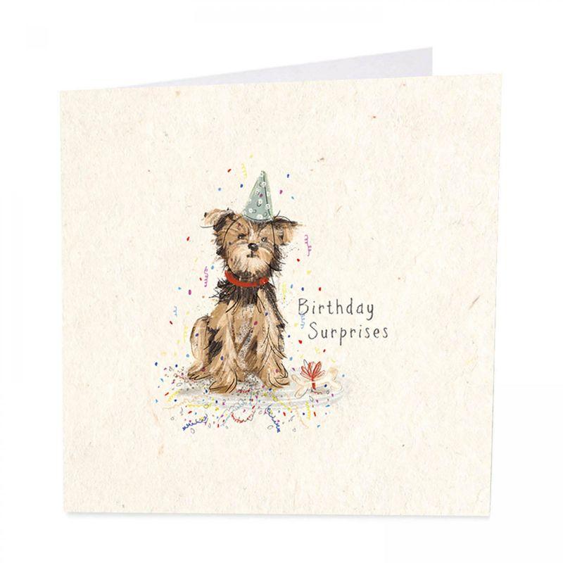 Dog Bone Happy Birthday Card