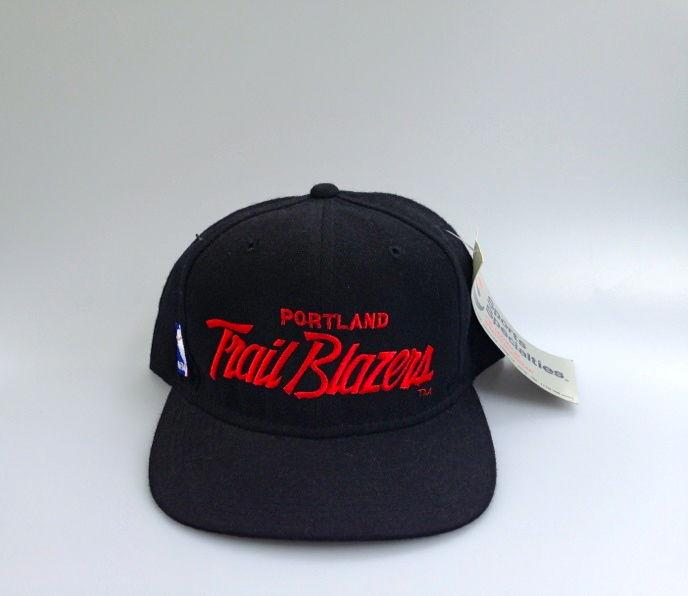 Blazers Hat: Vintage Portland TrailBlazers Sports Specialties Script