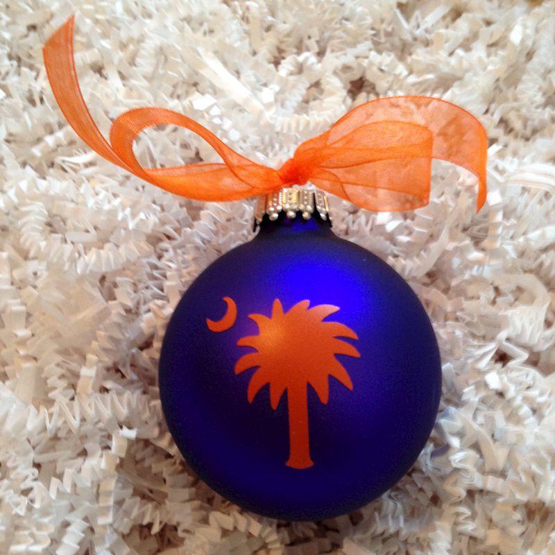 Clemson Christmas Tree: Upstate Pride Palmetto Tree Ornament