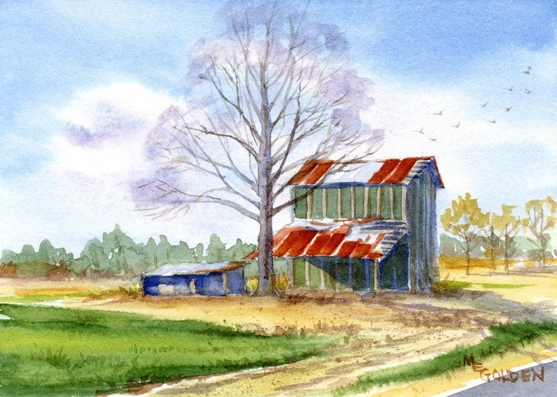 Remember When Tobacco Barn The Golden Gallery