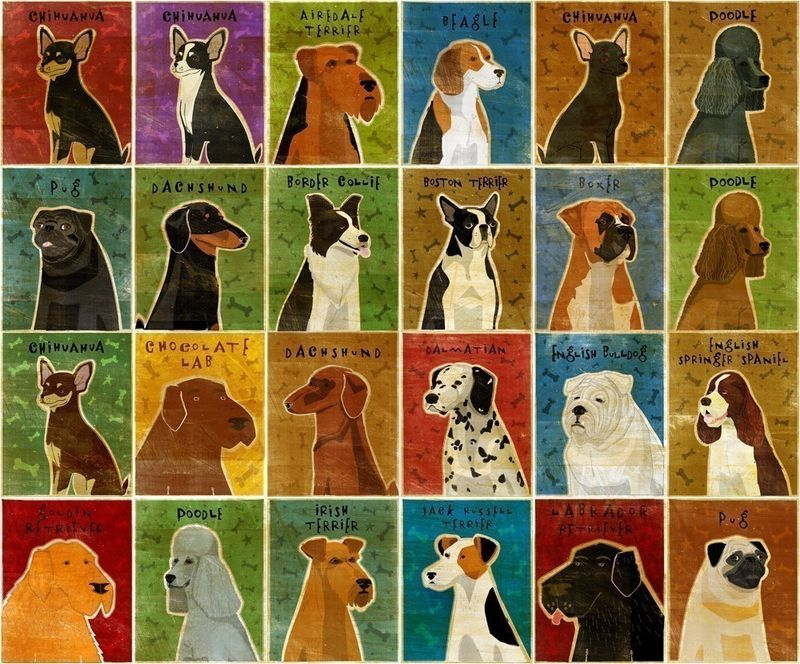 Custom Dog Print Personalize Your Pooch Dog Art Print 8 In X 10 In The Golden Gallery