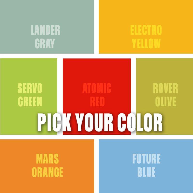 Sci Fi Art Quelstar Series Pick Your Print, Pick A Color