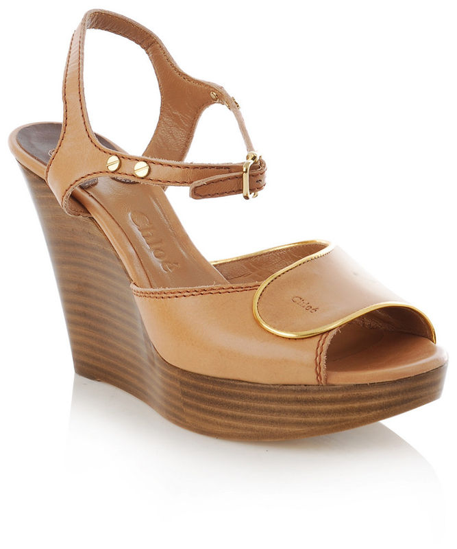 fb60db330ffe27 Chloé - Wooden Wedges - product images of