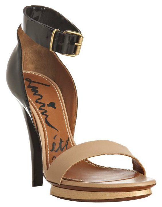 Patent sandals Lanvin w34hC