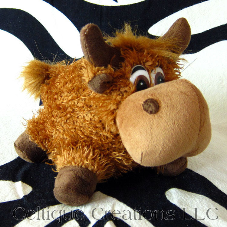 Scottish Highland Cow Stuffed Animal Heilan Coo Soft Toy