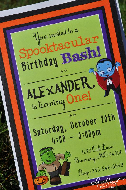 Halloween Costume Birthday Party Invitations Source Im Genes De First Ideas