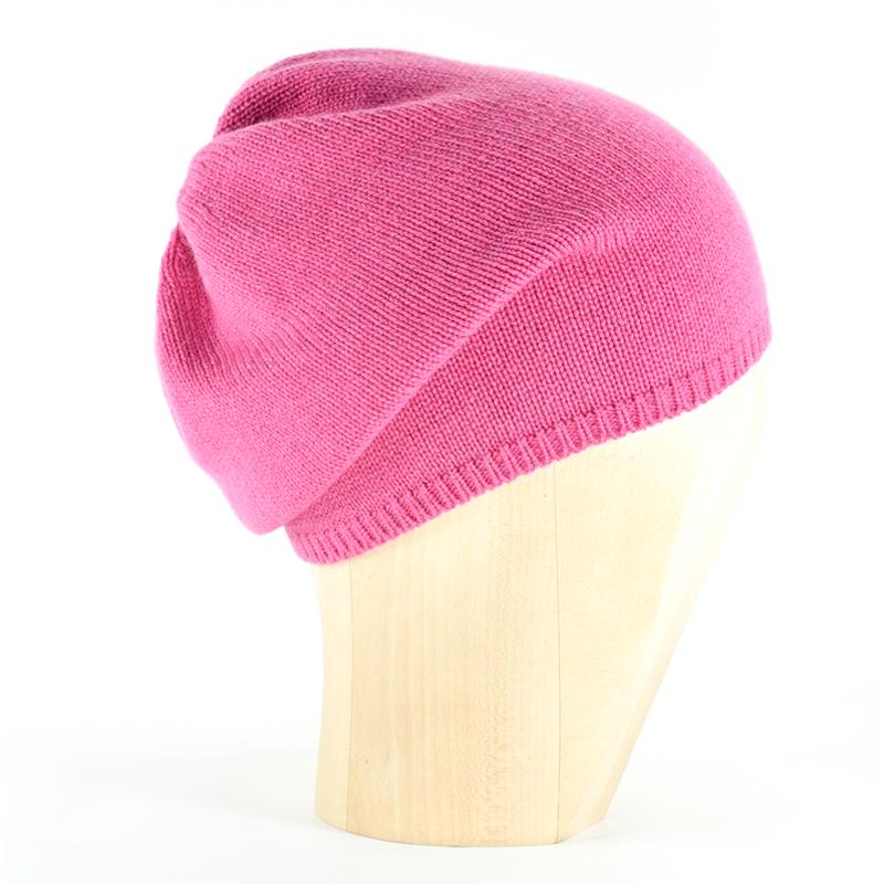 0cfec3c1ffe9ae Star Beanie - Hot Pink - Jennigraf e.U.