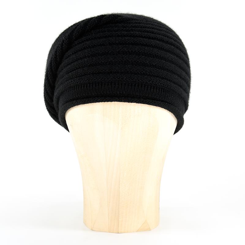 93c79379ae6fdd Horizontal Knit Beanie - BLACK - product images