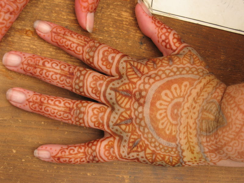 Henna Tattoo Infection: Natural Dyes And Mordants Collection