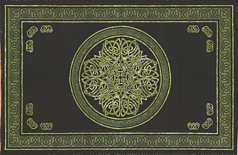 Black And White Flower Tapestry