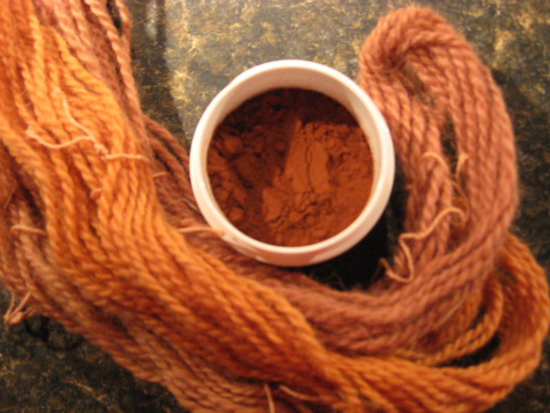 Natural Dyes And Mordants Collection Brush Creek Wool Works