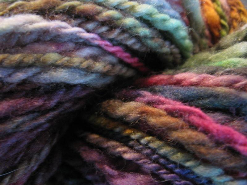 Rocky Coast Multi Color Hand Spun, Hand Dyed Wool Yarn - Brush ... Rocky Coast Multi color Hand Spun, Hand Dyed Wool Yarn - Brush ... Pink Things multicolor pink yarn