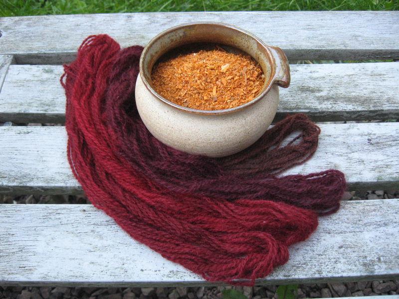 Brazilwood Sawdust Caesalpinia Sappan Natural Dye