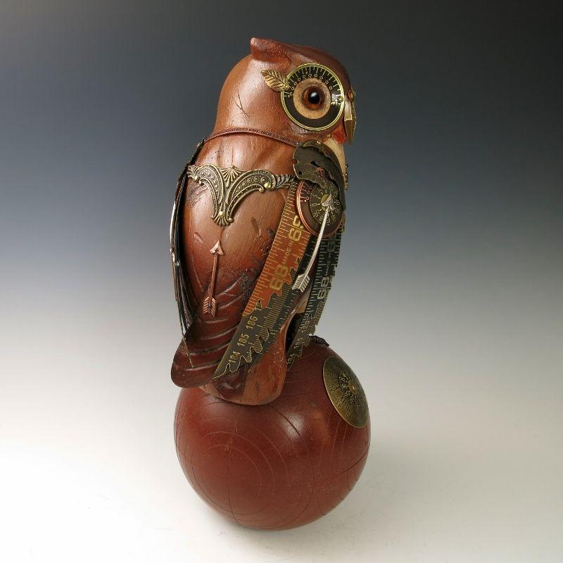 Mullanium Bird Brown Owl Sold Talich